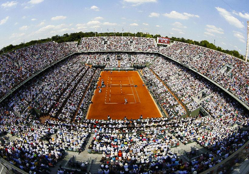 Rolland Garros en 360